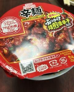 日清「カップヌードル 辛麺」