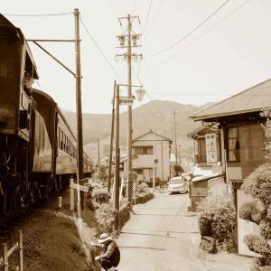 昭和の日常を彷彿させる光景 ・ 大井川鉄道(静岡県)