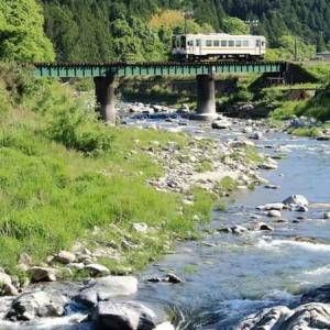 渓谷と渓流を行く ・ JR名松線(三重県)