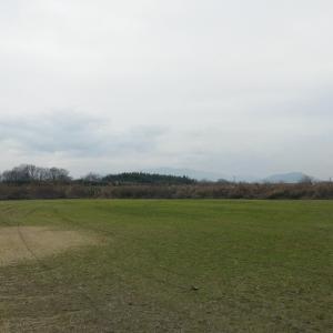 今日(1/12日曜)のRCクラブ飛行場風景