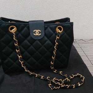 KAIMAX赤羽 質店 買取店 シャネル マトラッセ シルク バッグ お買取しました。