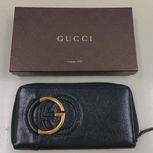 KAIMAX赤羽 質店 買取店 グッチ GGマーク 長財布 箱付き お買取りしました。