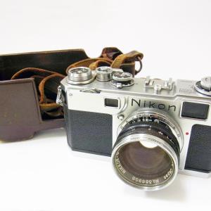 KAIMAX赤羽 質店 買取店 Nikon S2 黒ダイヤル NIPPON KOGAKU カメラ