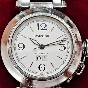 KAIMAX赤羽 質店 買取店 カルティエ パシャ 腕時計 お買取りしました。