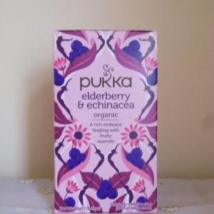 pukkaのエルダーベリー&エキナセアが新パッケージになりました。