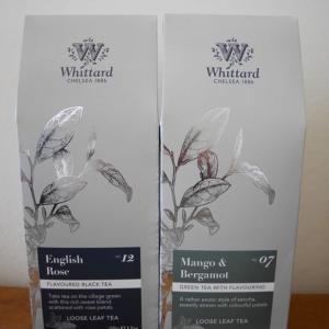 Whittardのローズティーと緑茶ブレンド