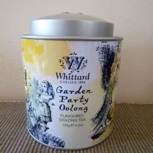 不思議の国のアリス缶 ガーデンパーティーウーロン