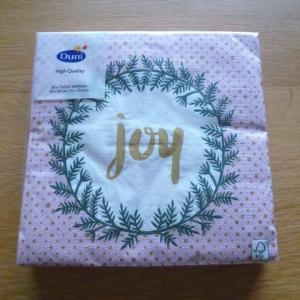 クリスマスデザイン紙ナプキン