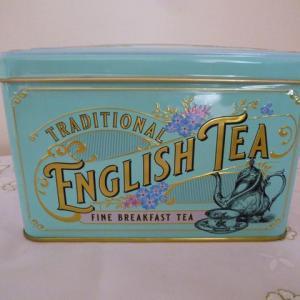 Traditional English Tea Vintage Victorian缶