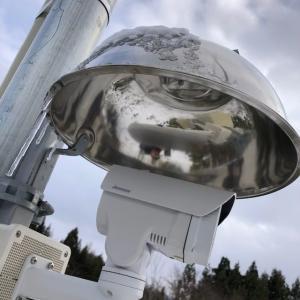 東北の監視カメラは雪に耐える