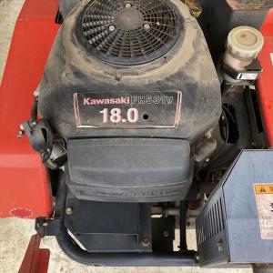 乗用草刈機のオイル交換 Kawasaki-FH531V まさお編
