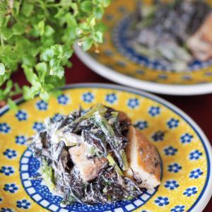 【レシピ・副菜】ごまポン♪ひじきと小松菜のサラダ