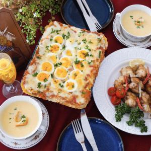 【家庭料理60分完結コース】定番洋食でインスタ映えお祝いメニュー♡