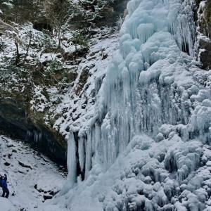御船の滝・氷瀑
