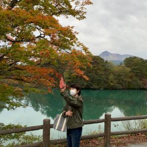 秋を満喫中