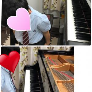 ピティナ課題曲チャレンジ撮影。
