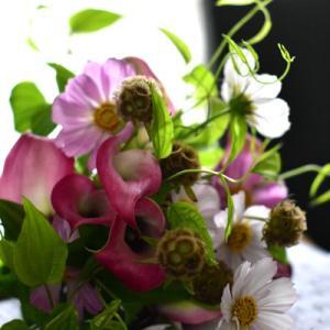 心を込めて花束を