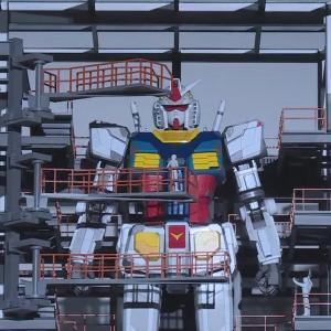 『動く実物大ガンダム概要【2020年10月公開】発表!!』7月と8月も有料プレオープン