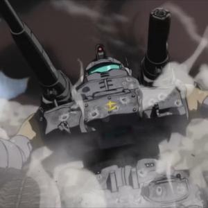 """『ガンダム THE ORIGIN 第2話 感想』""""セイラは月を知らない""""ガンタンク無双!"""