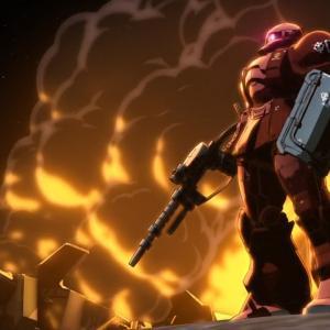 """『ガンダム THE ORIGIN 第7話 感想』""""人類最初のMS戦""""開発意図の差が決定的"""