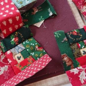 クリスマスのブローチ作り♪