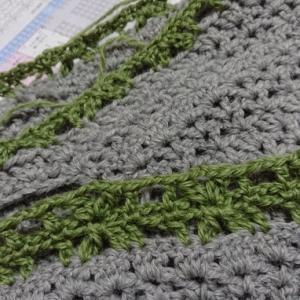 編み物の続き♪