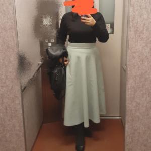 好きなスカートで1歩前へ&SSで買ったもの