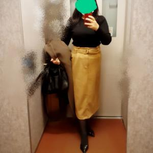 ゆるやかタイトスカートならおデブな私でも。