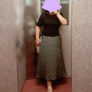 スーパーセールで買ったスカートが届いたよ