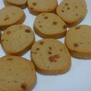 地味に美味しい黒糖クッキー。