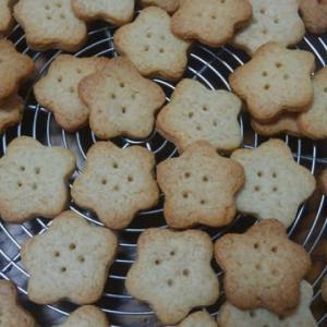 バターなしのクッキー、1度食べたらクセになる。