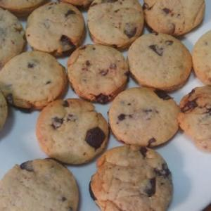 豆腐と油を乳化させたチョコチップクッキー