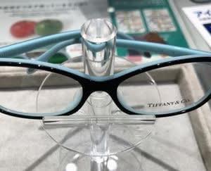 ティファニーのメガネが出来上がってきました