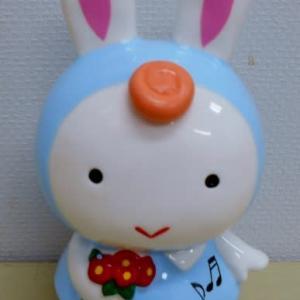 にしざわ貯金箱かん つれづれ雑記(ウサギの貯金箱)