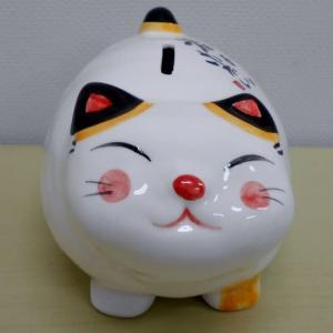 にしざわ貯金箱かん つれづれ雑記(太り猫貯金箱)
