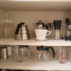 キッチンの収納を整える