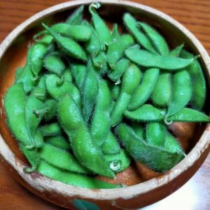 まだまだ続く 枝豆シーズン