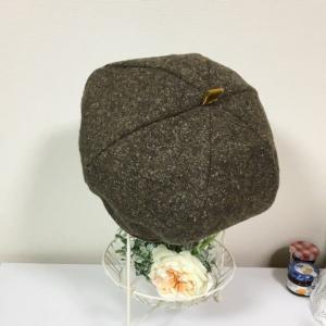 ミックスモカのベレー帽