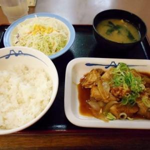 #6817 鶏のバター醤油炒め定食