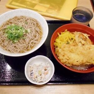#6862 都そば 上天丼定食('19年9月 弾丸 京都_10)