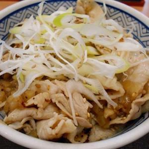 #7289 吉・ねぎ塩豚丼