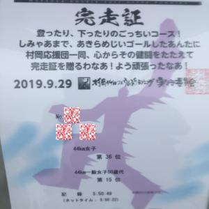 【速報】村岡ダブルウルトラ44キロ