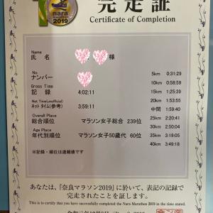 【遅報】奈良マラソンの結果