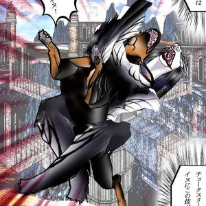 358章 チョークスリーパー!!!アフガンハウンド、ガズニの必殺プロレス技!!!