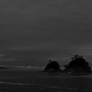 いつもの朝をモノクロームで表現してみた。 〜 女川ぐらし 2021.5.18 AM4:21