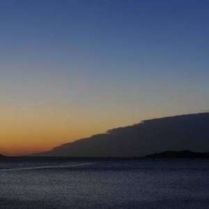 日がのぼる前の景色が好きです