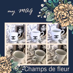 生徒様作品♡CCマークが素敵なマグカップ お友達とおそろいで