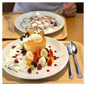 上田市☆久しぶりに外でパンケーキ