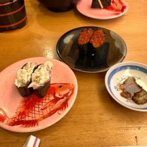 久しぶりに周らないお寿司であれを食べた
