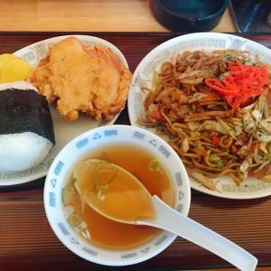 焼きそば美味しいー♪八宝園さん(釧路町)